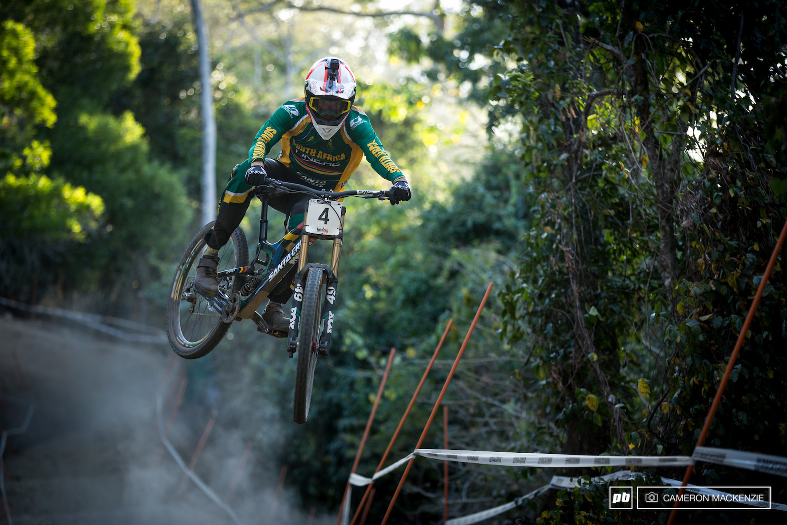 Rumble in the Jungle Practice Photo Epic - Cairns DH World Champs 2017