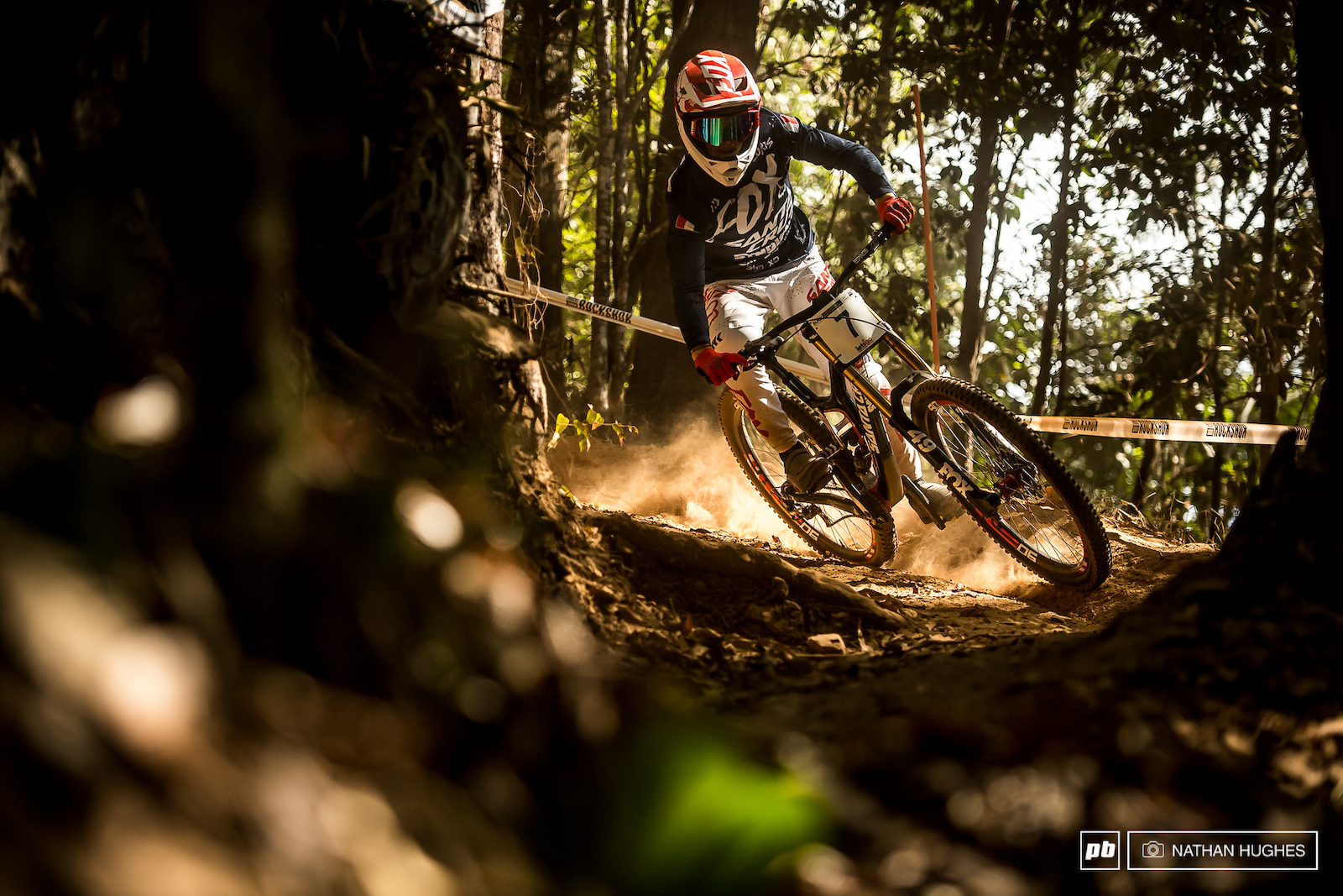 Loris Vergier looked red-hot quick through a lot of the tight spots this afternoon.