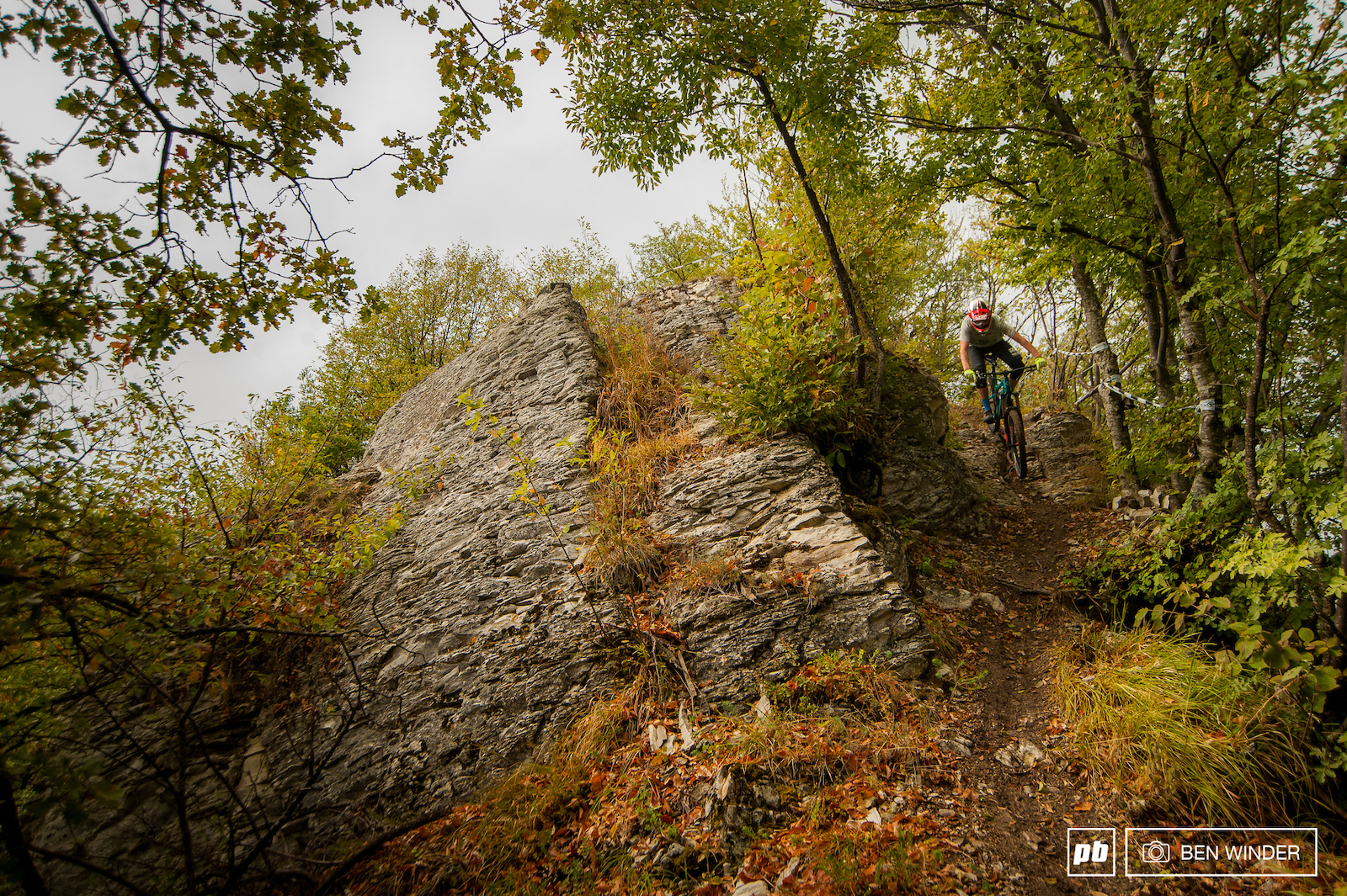 This trails aren t heavily used so there s an amazing mixture of rock and dirt.