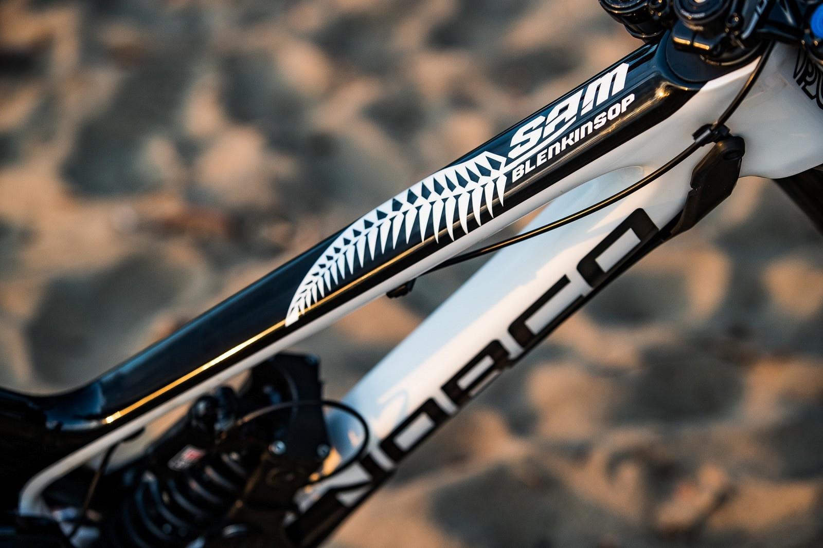 Norco Factory Racing. Sam Blenkinsop s Custom DH Bike Cairns World Champs