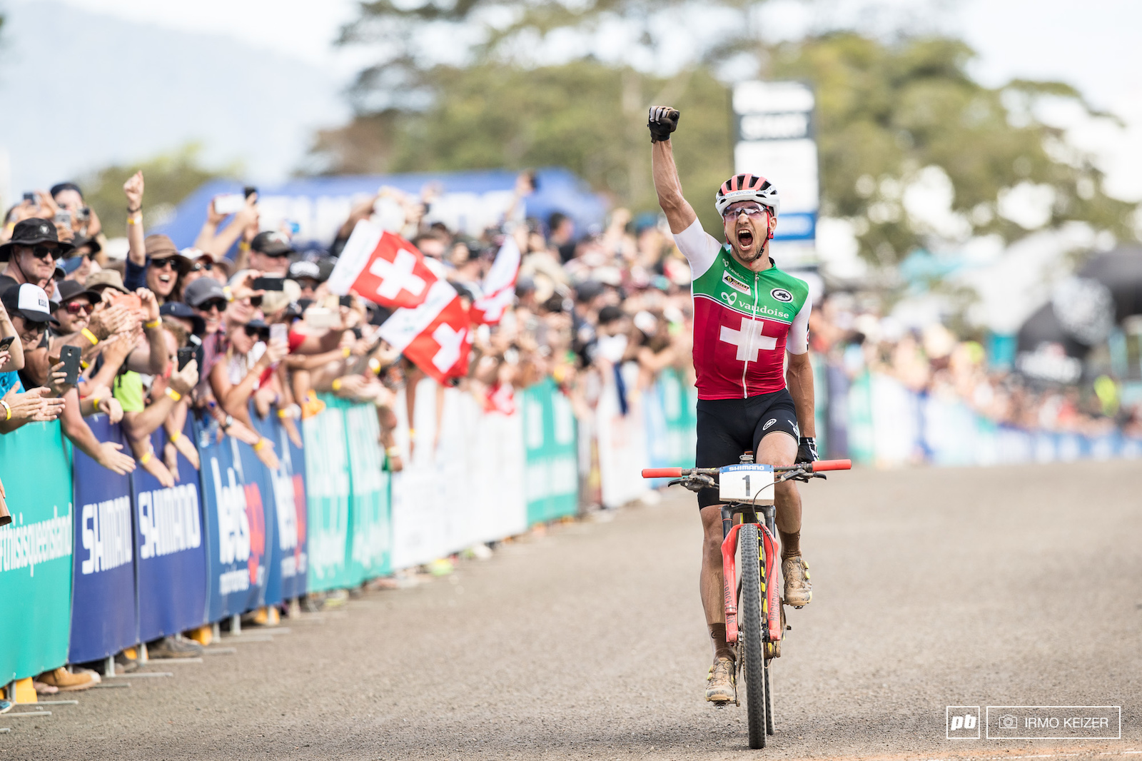World title number six. Nino Schurter s supremacy is complete.