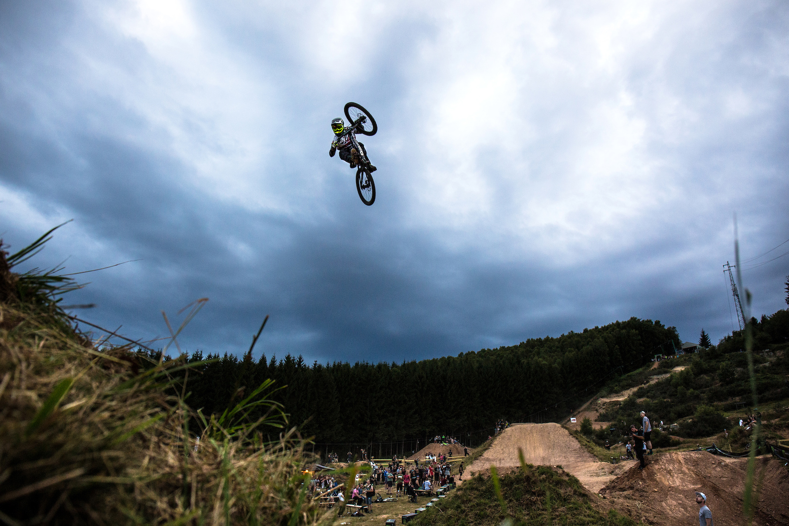 Sam Reynolds turned up at Loosefest in more ways than one!