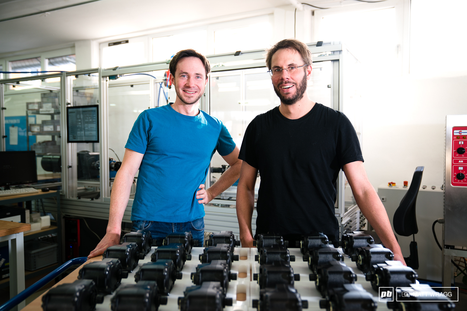 Christoph Lerman and Michael the founders of Pinion.