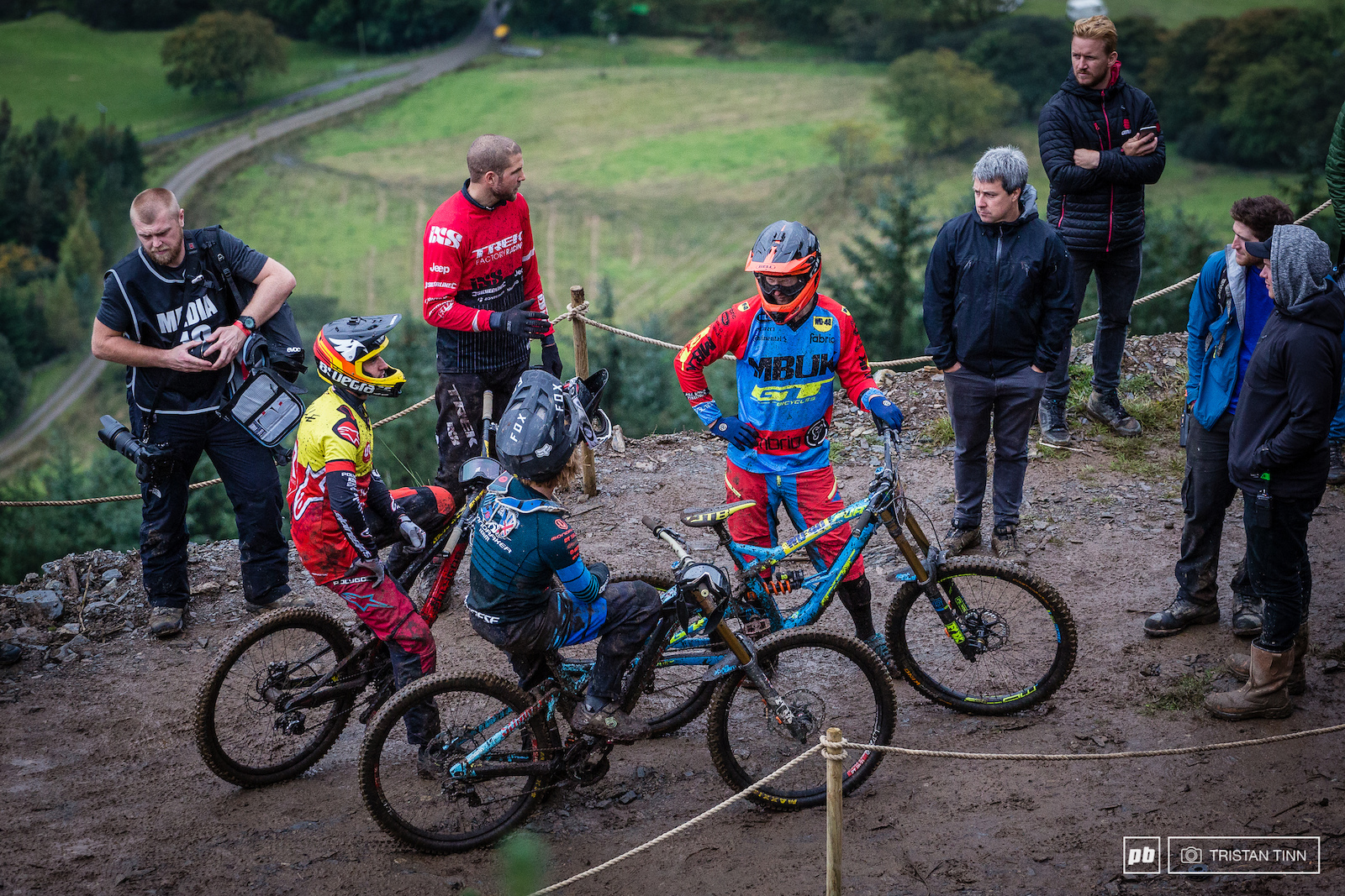 Riders discuss the renegade step up