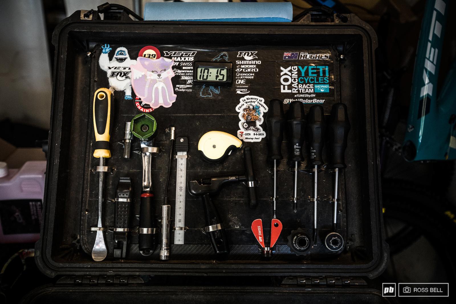 A Day in the Life of Yeti EWS Mechanic Shaun Hughes