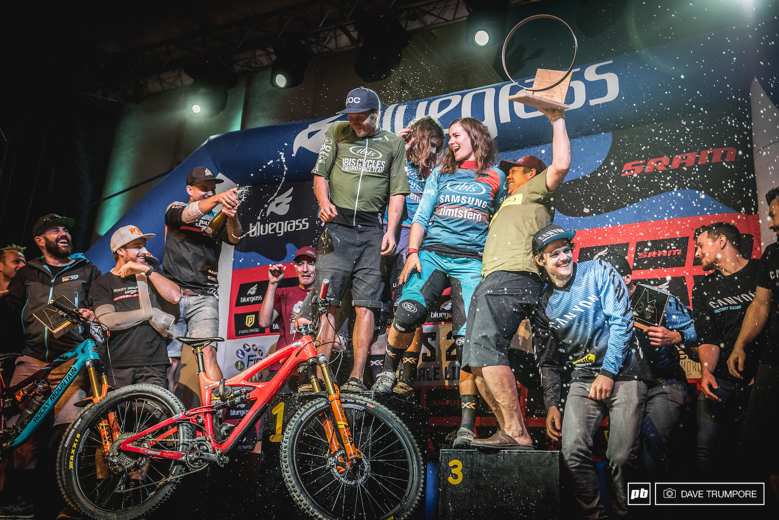 By the slimmest or margins and in a race the came down to the final stage of the last race Ibis Racing took home the title of fastest team in the world. Rocky Mountain would finish just behind with Canyon Factory in third.