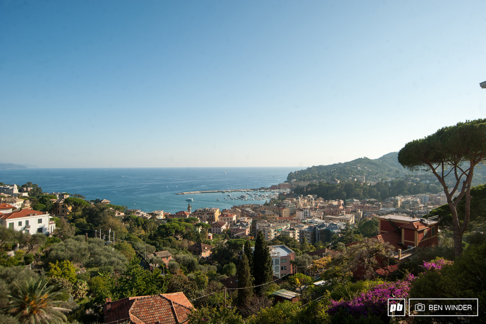 A stunning Ligurian cove just over an hour away from the mountain bike mecca that is Finale.