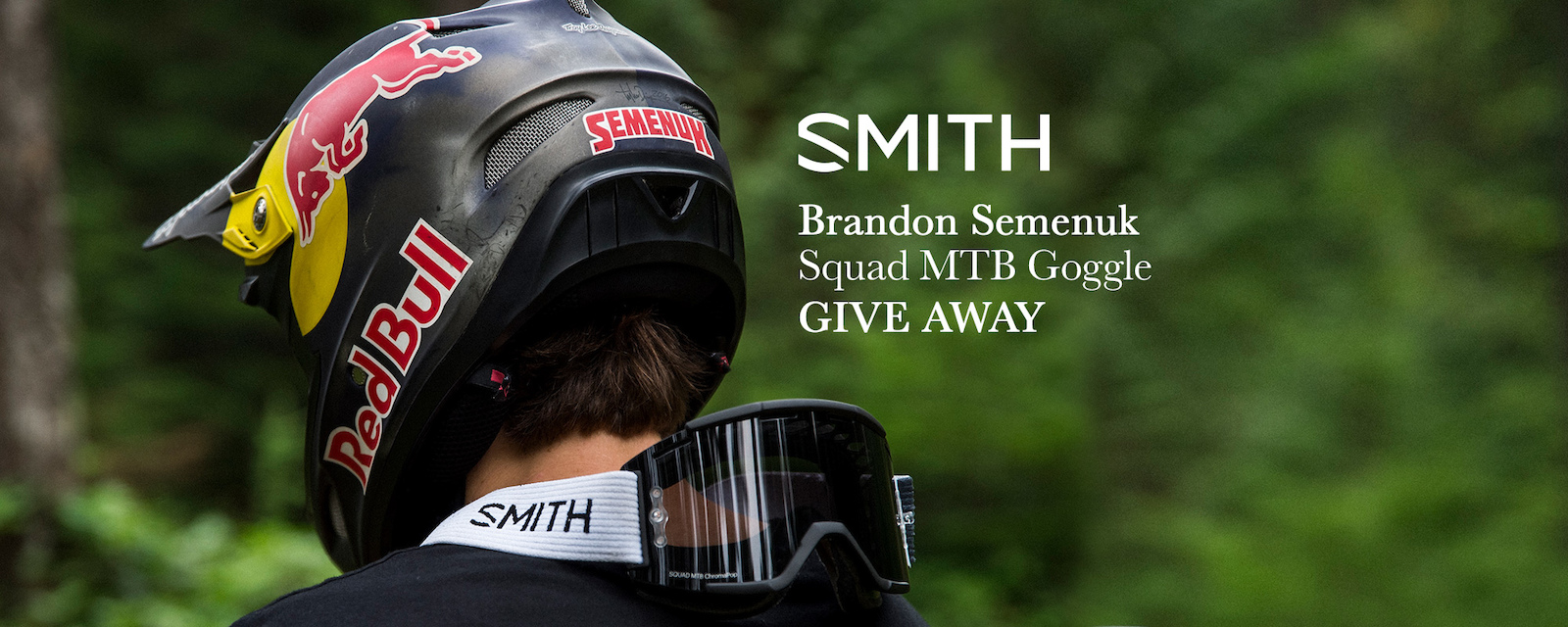 Win Brandon Semenuk Squad MTB Goggles - Giveaway and Video