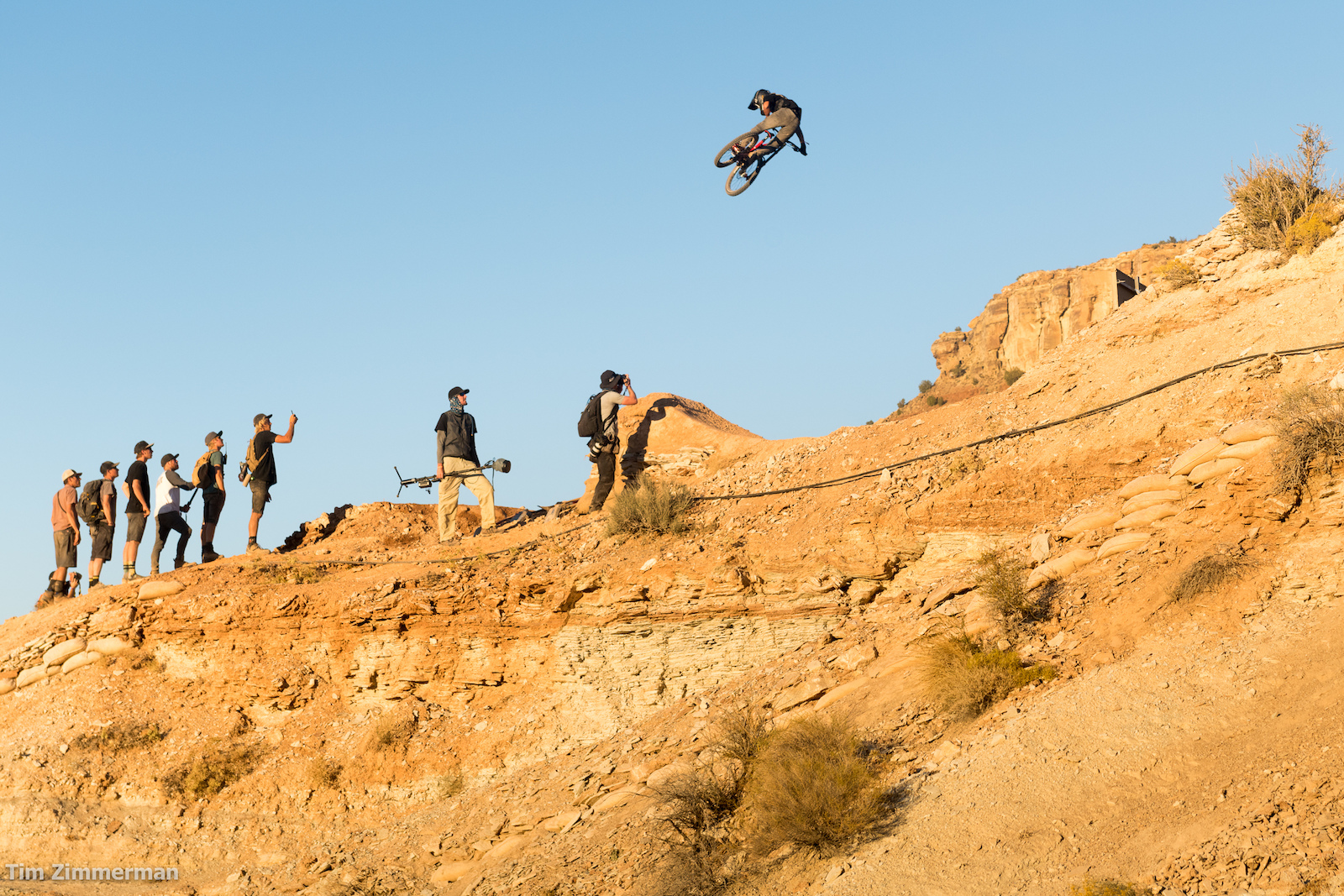 This may be Ethan Nell s inagural Rampage but he s no stranger to the sideways life.
