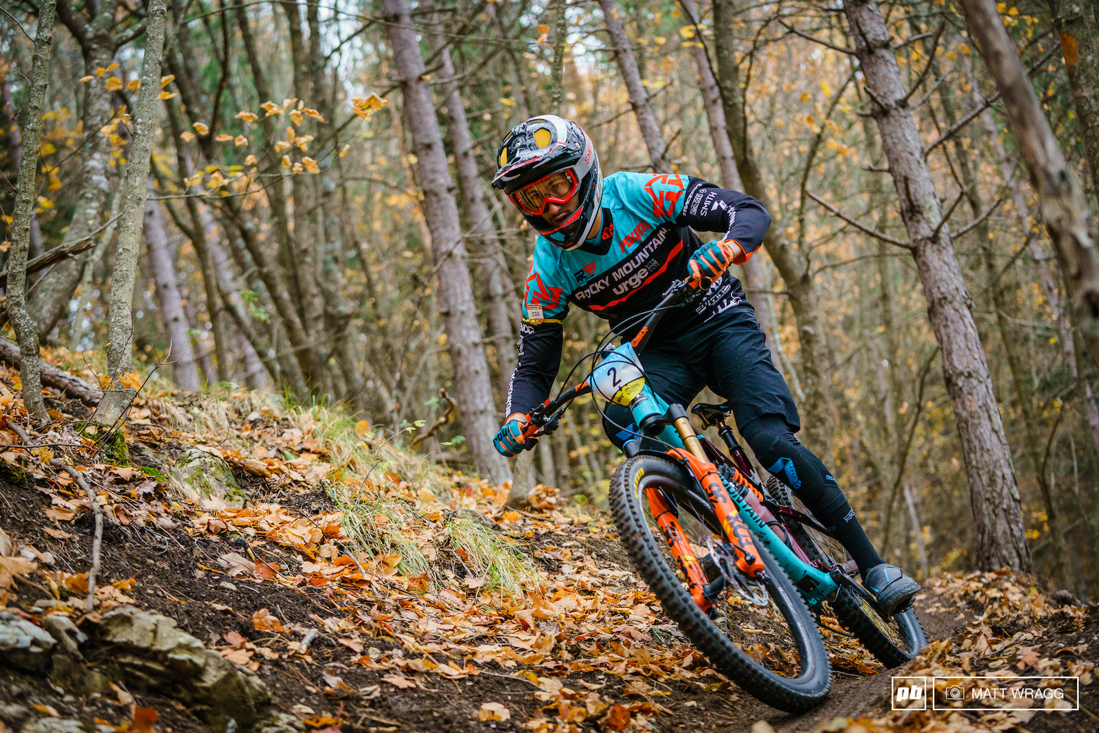 Flo Nicolai didn t have the smoothest day racing and with the EWS done and dusted he is in wind-down mode right now but he still comfortably took second against the stacked field.