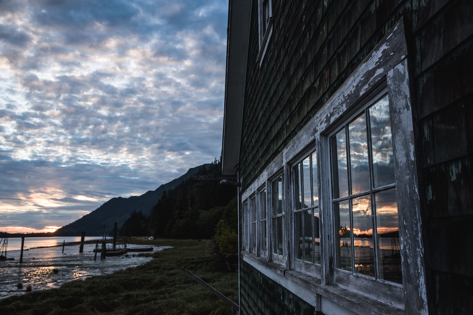 The rustic and historic side of the Cassiar Cannery is complemented by the amazing landscape and scenery definitely worth exploring a weekend away.