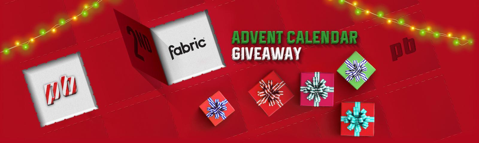 Advent Banner Dec 2 - Fabric
