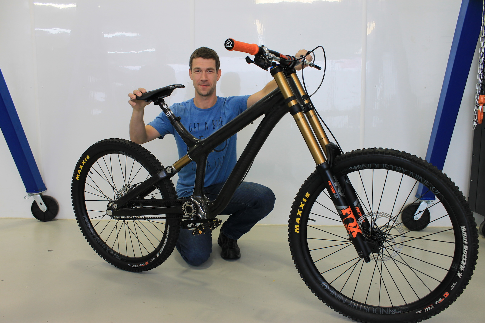 8001c1cac64 The Outlier - The Full Story of the Wild Insolent DH Bike - Pinkbike