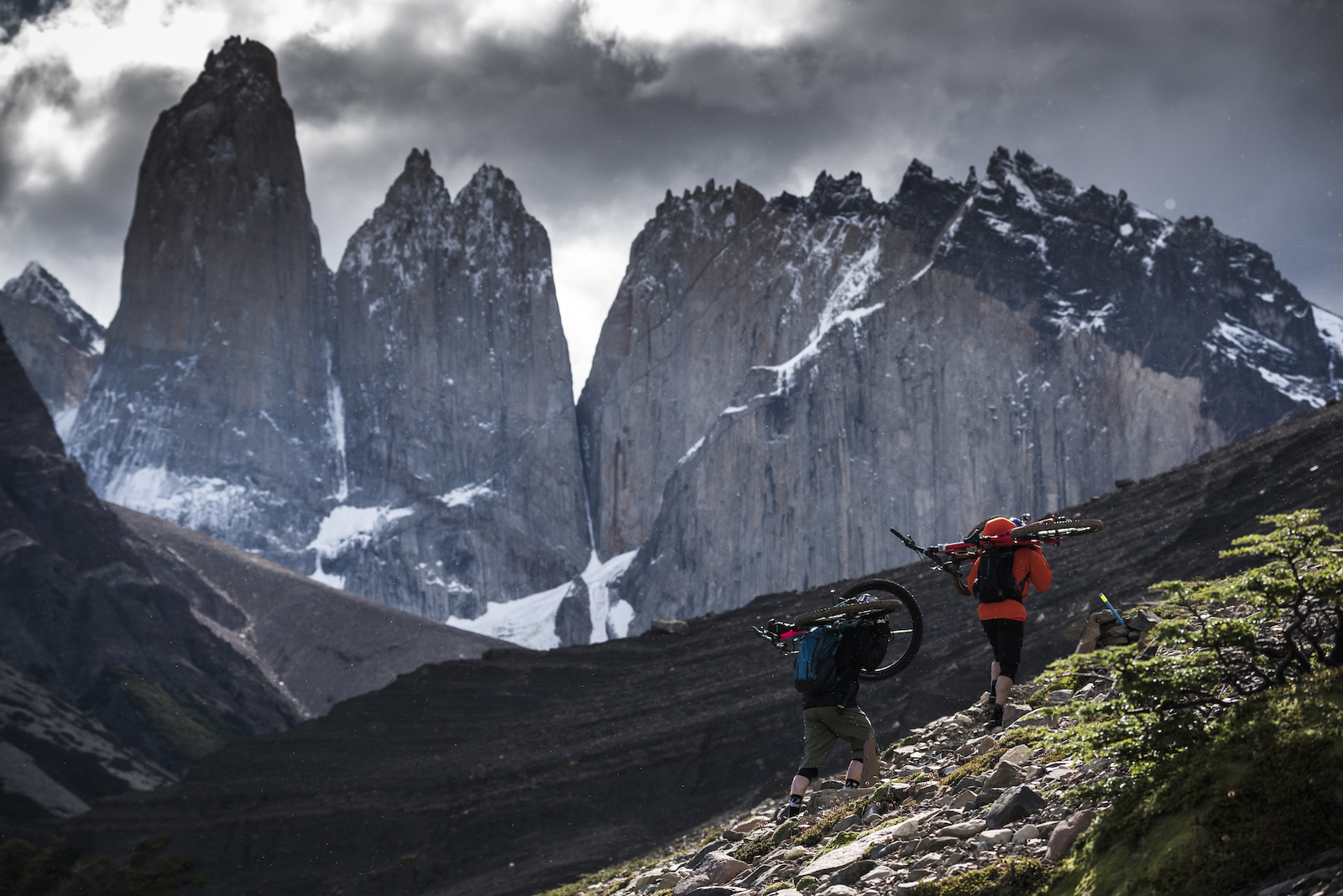 Hiking Cerro Paine