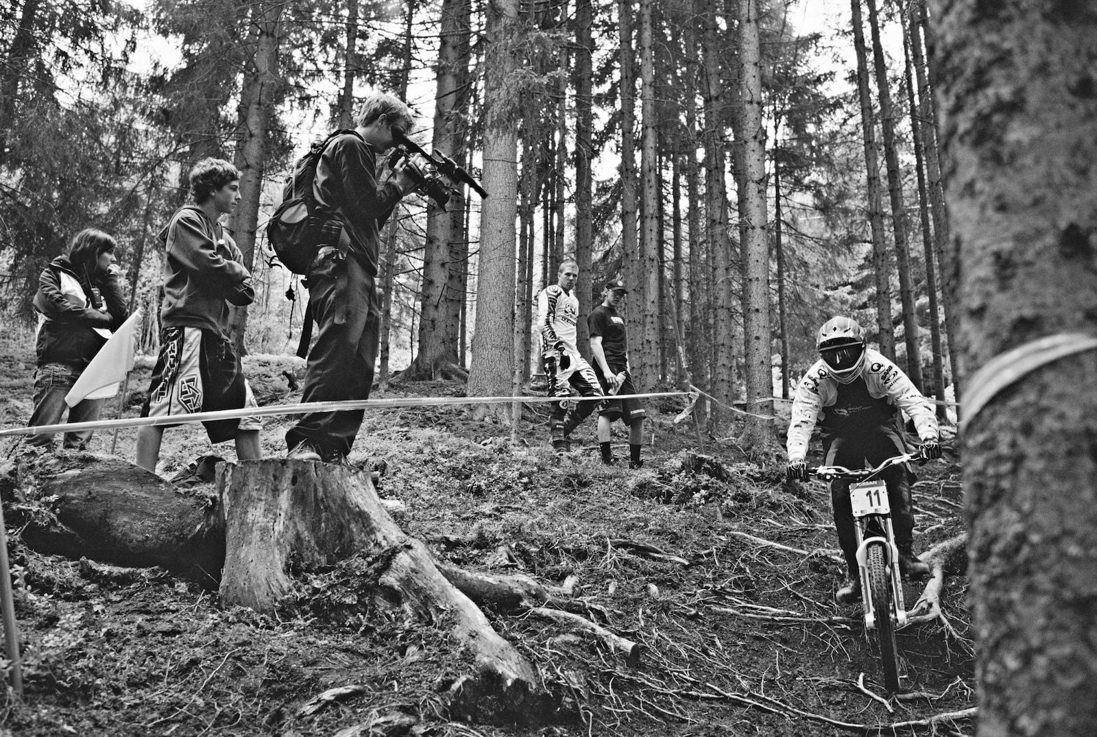 ... Team Saab Salomon on Q-Bikes