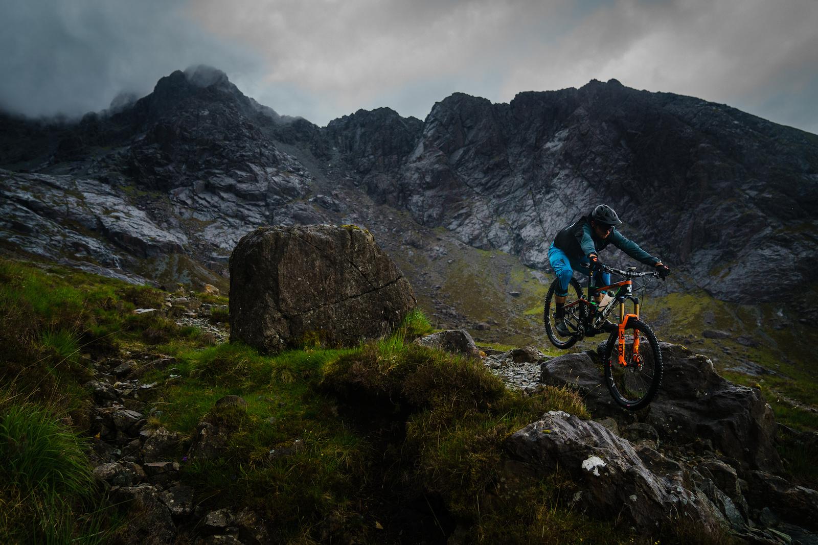 Greg Callaghan on Skye in Scotland June 2017. Photo by Matt Wragg