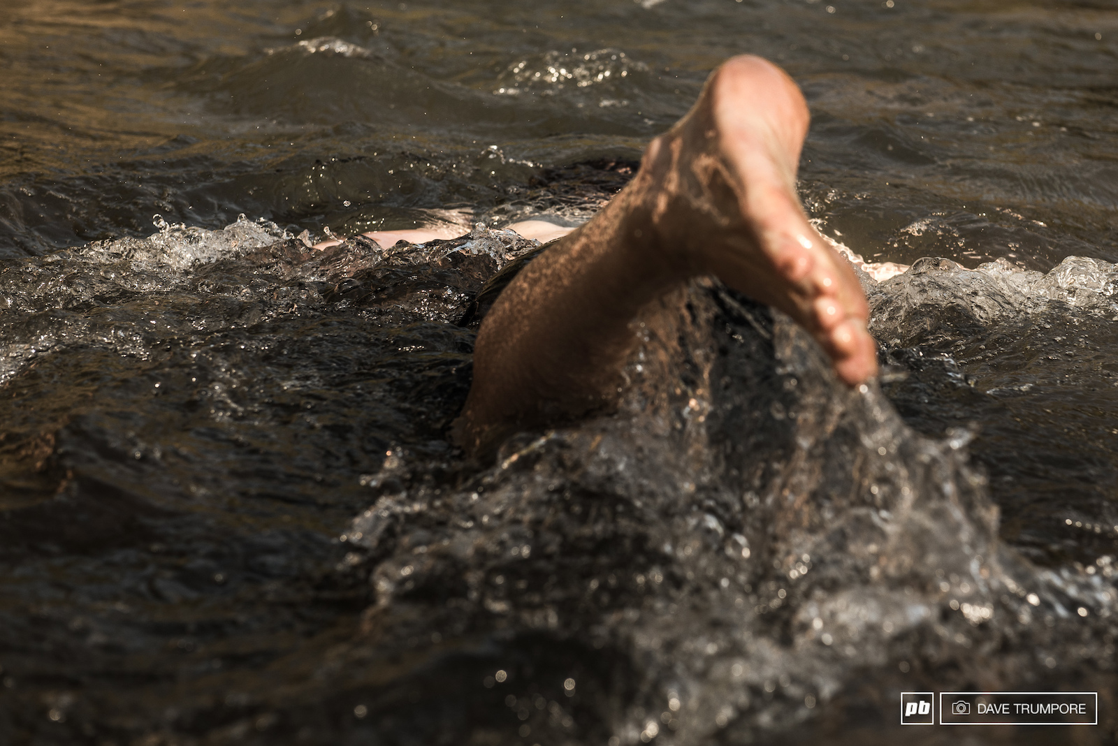 Cold swims in the river are an essential end of day activity in the scorching summer heat.