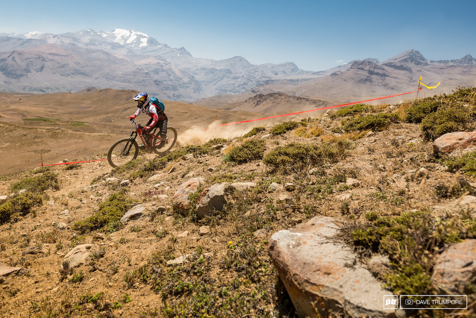 Rene Wildhaber escaped the Swiss Winter and is hear racing his first Andes Pacifico.