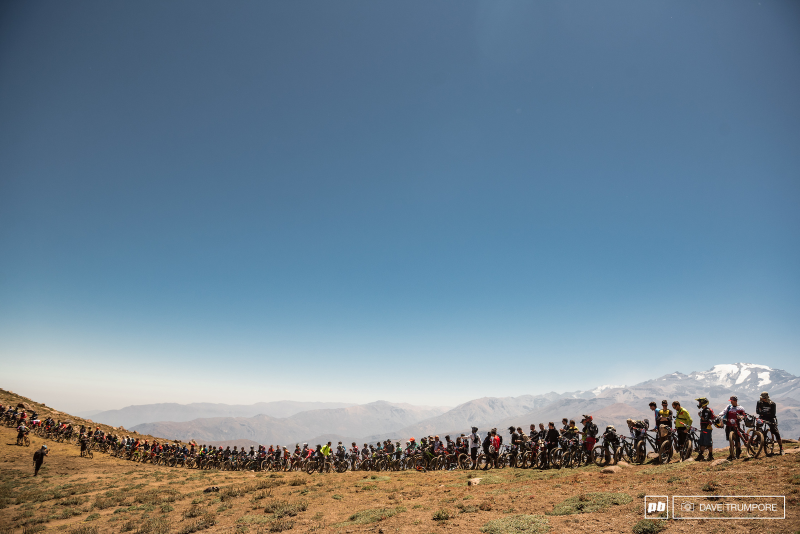 The 85 brave souls about to tackle the 5th edition of the Andes Pacifico.