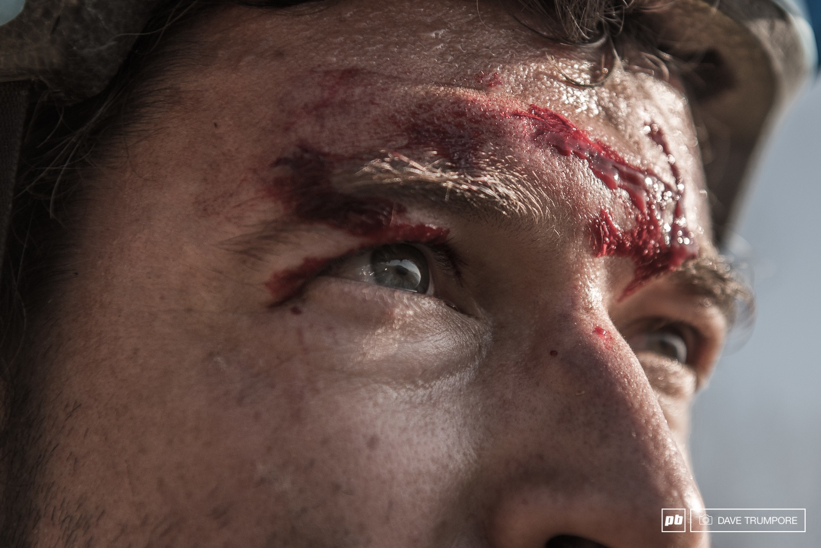Proof the race organizers bleed for enduro racing here in Chile.