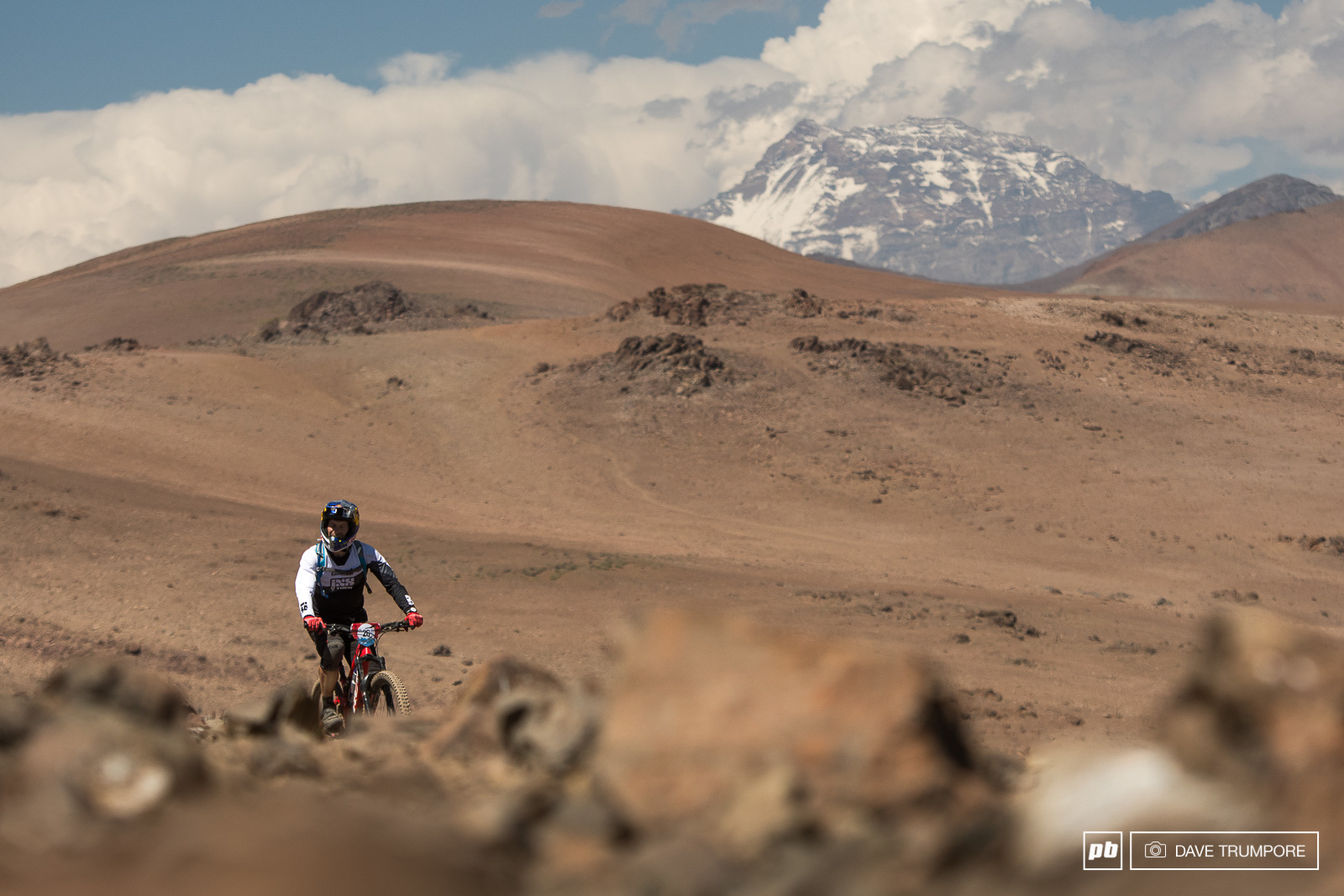 Rene Wildhaber rides out the final stretch of a massive transfer stage on Day 3.