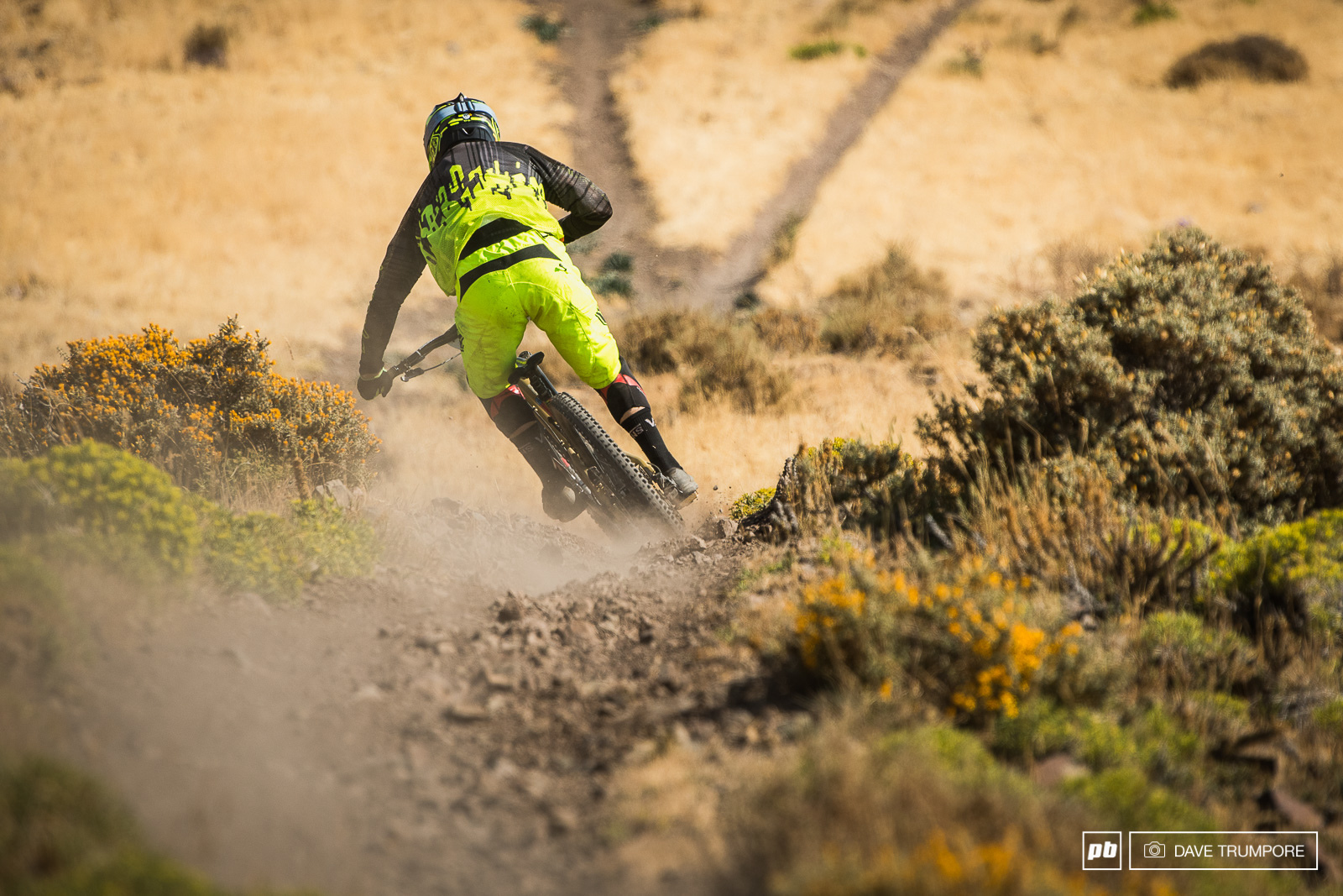Allan Cooke was on a good one until a puncture at the close of Day 2 would ruin his day.