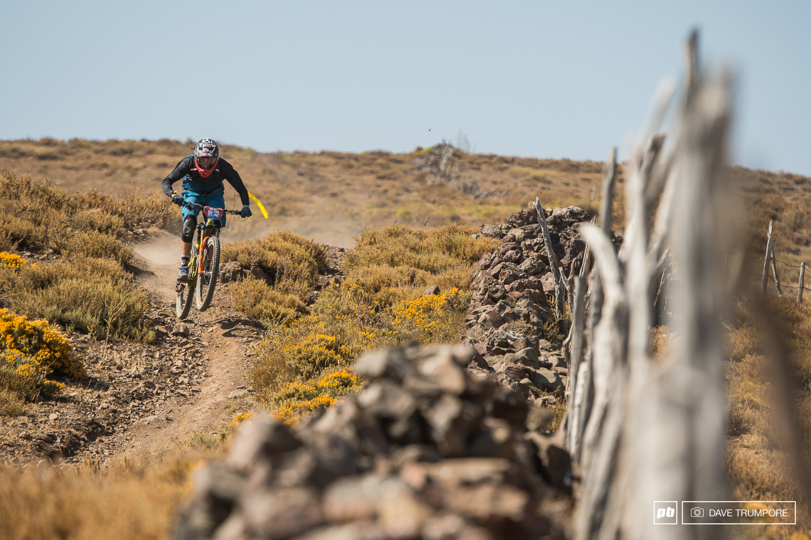 Rat Boy loving the big long stages in the Andes.
