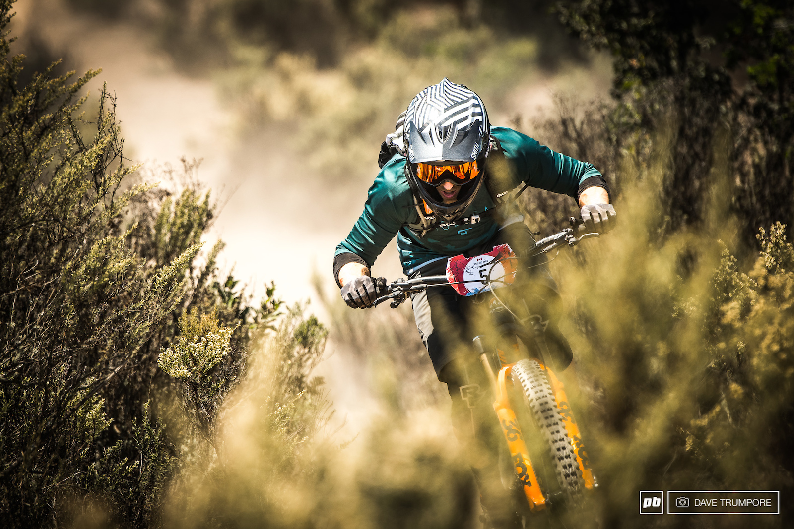Speed tucking to the beach and the win at his first multi-day blind race Jesse Melamed is definitely on a good pace to kick off the EWS season next month.