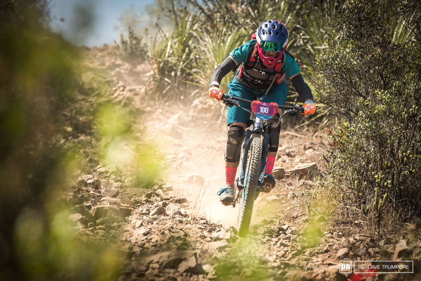 Leigh Bowe came from Colorado to race the Andes Pacifico for the first time and would finish a hard fought 5th.
