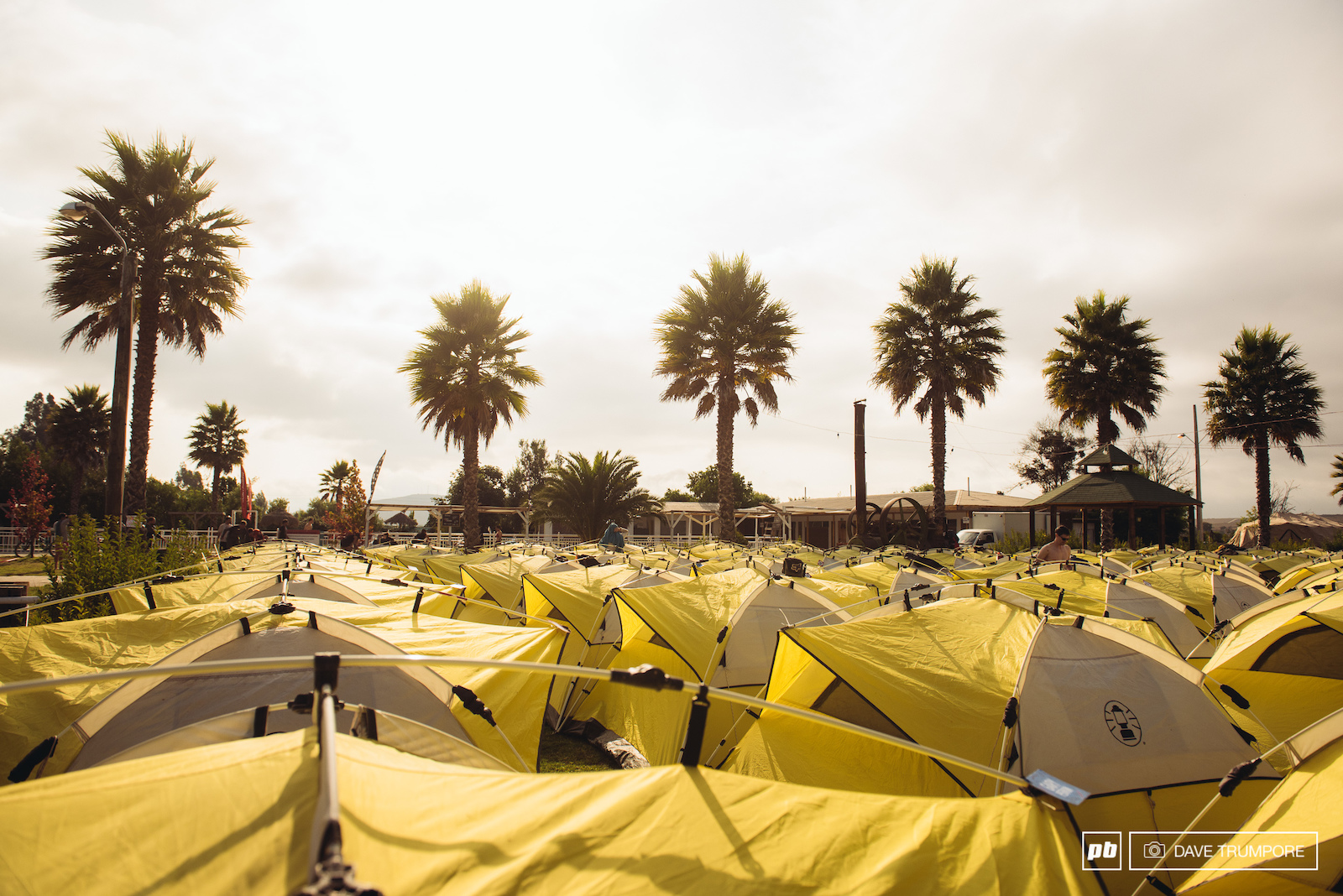 The camp on day 4 was nothing short of luxurious after the rural campgrounds of the Andes.