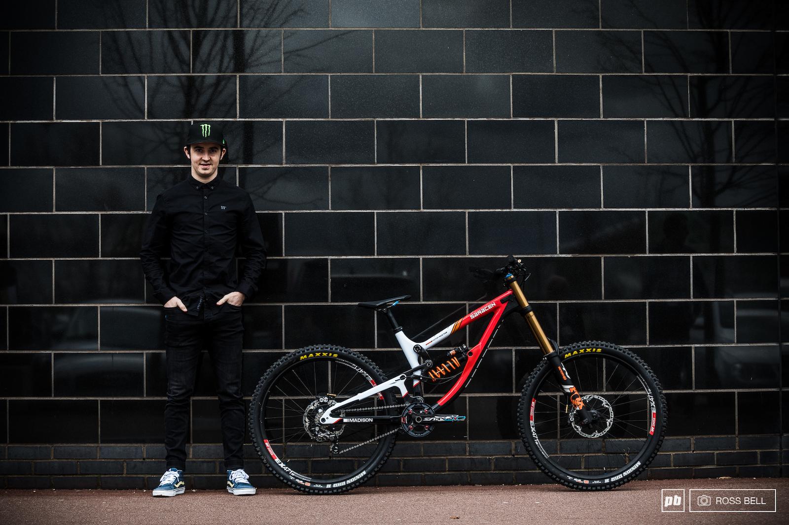 163fe0d6783 Danny Hart Saracen. Bike Check. Danny Hart's Saracen Myst