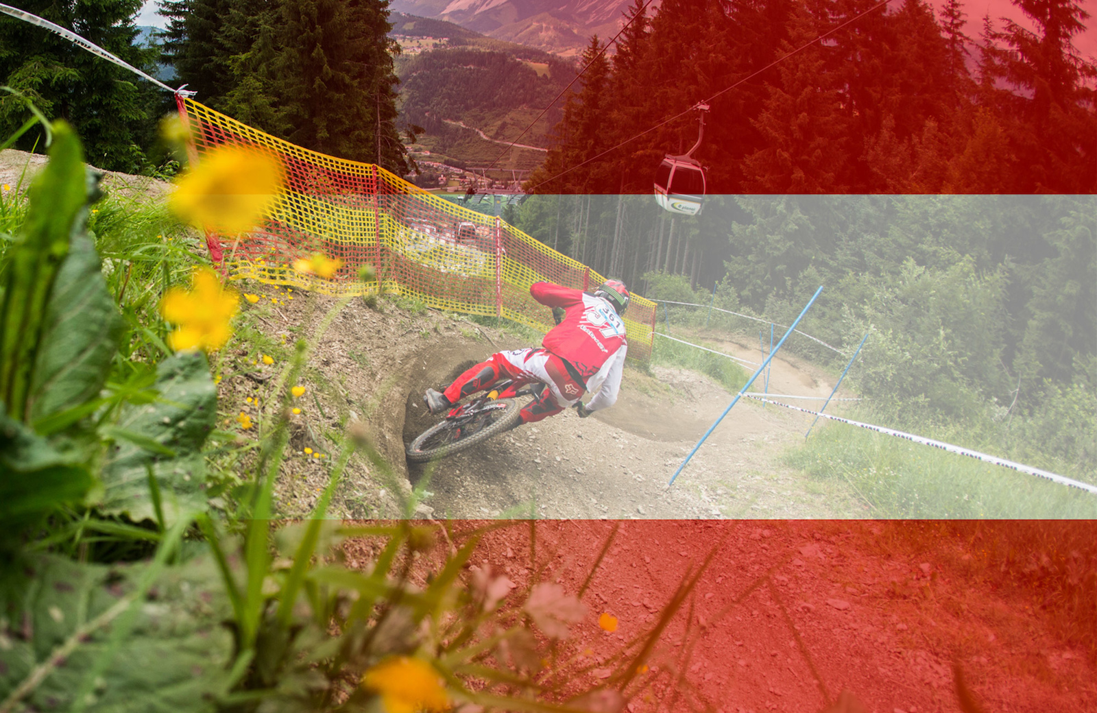 Schladming delivers the good with an epic scenery. Photo Rick Schubert