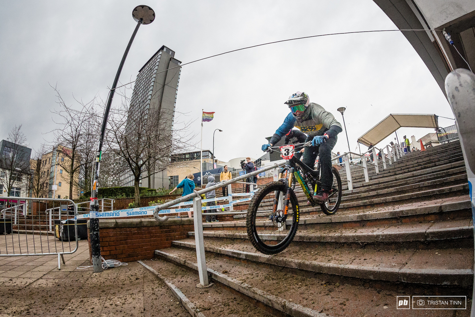Peaty hammers the Hallam square steps