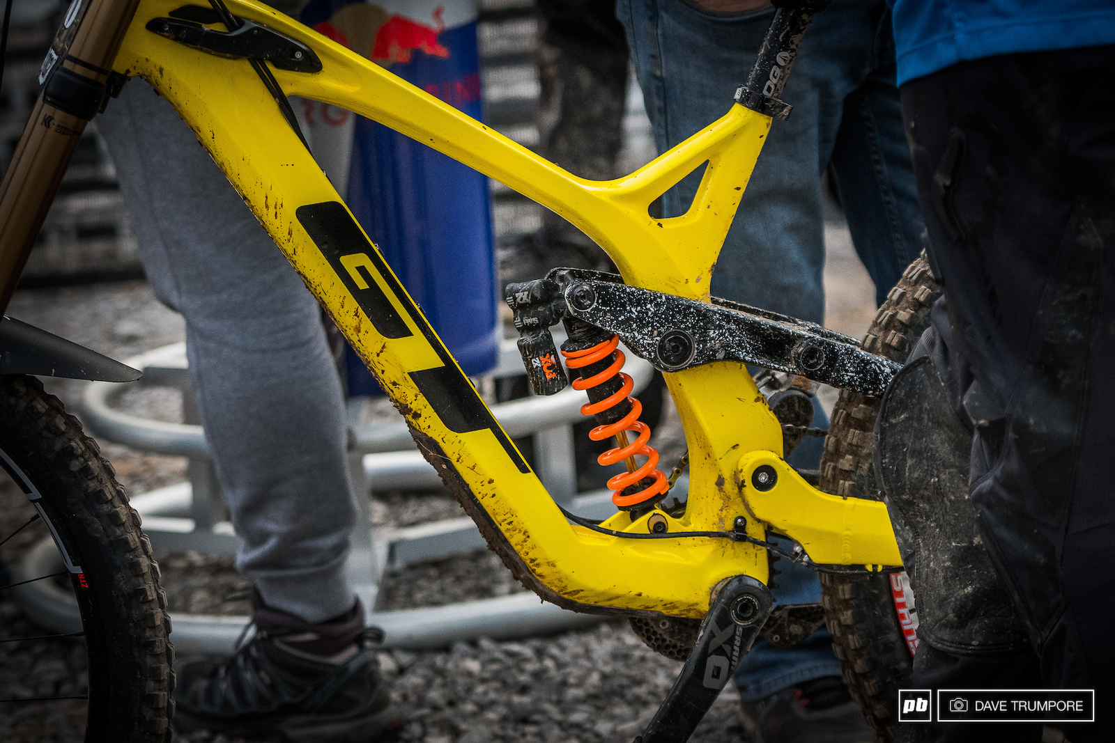 Prototype GT downhill bike