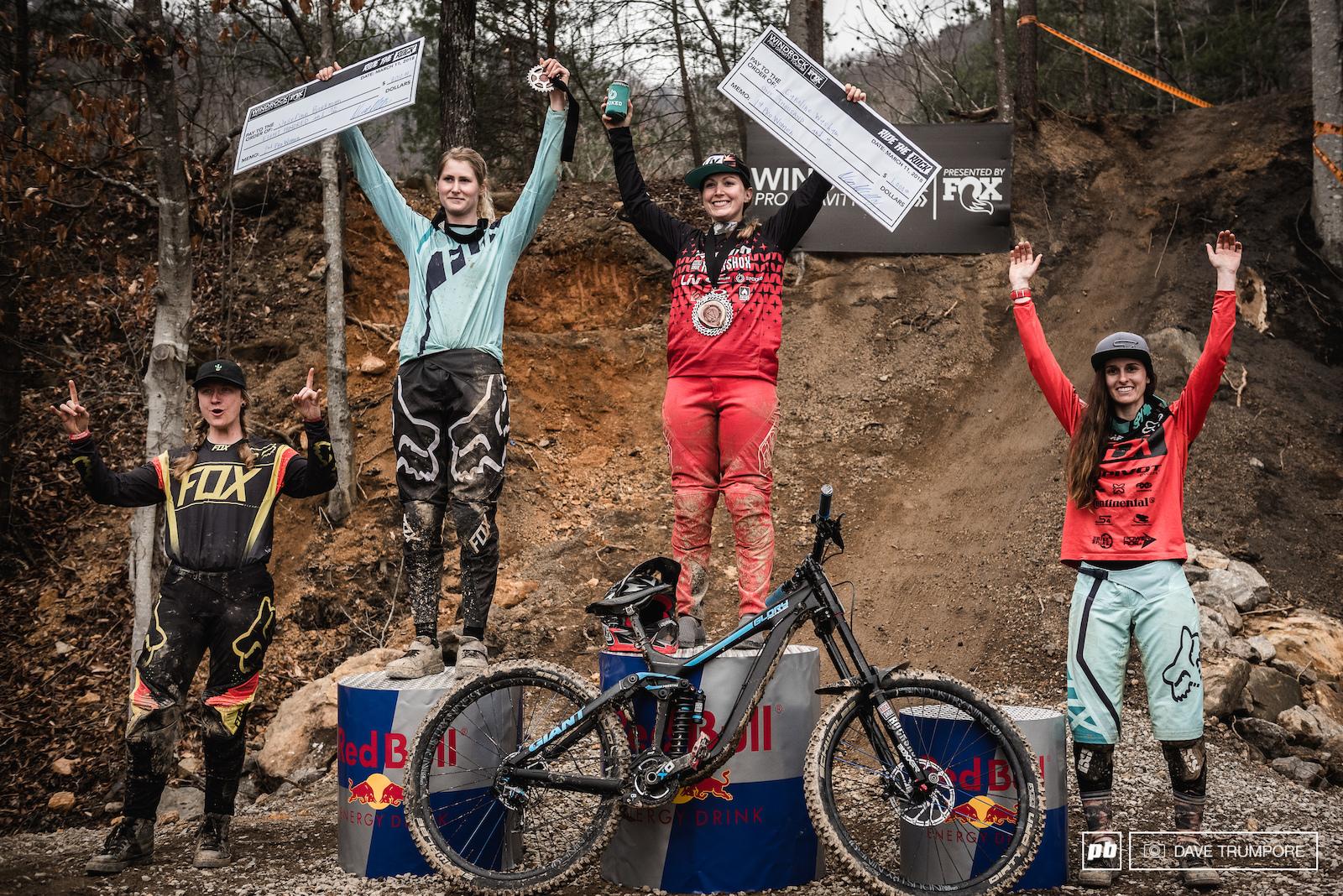 Pro Women s podium.
