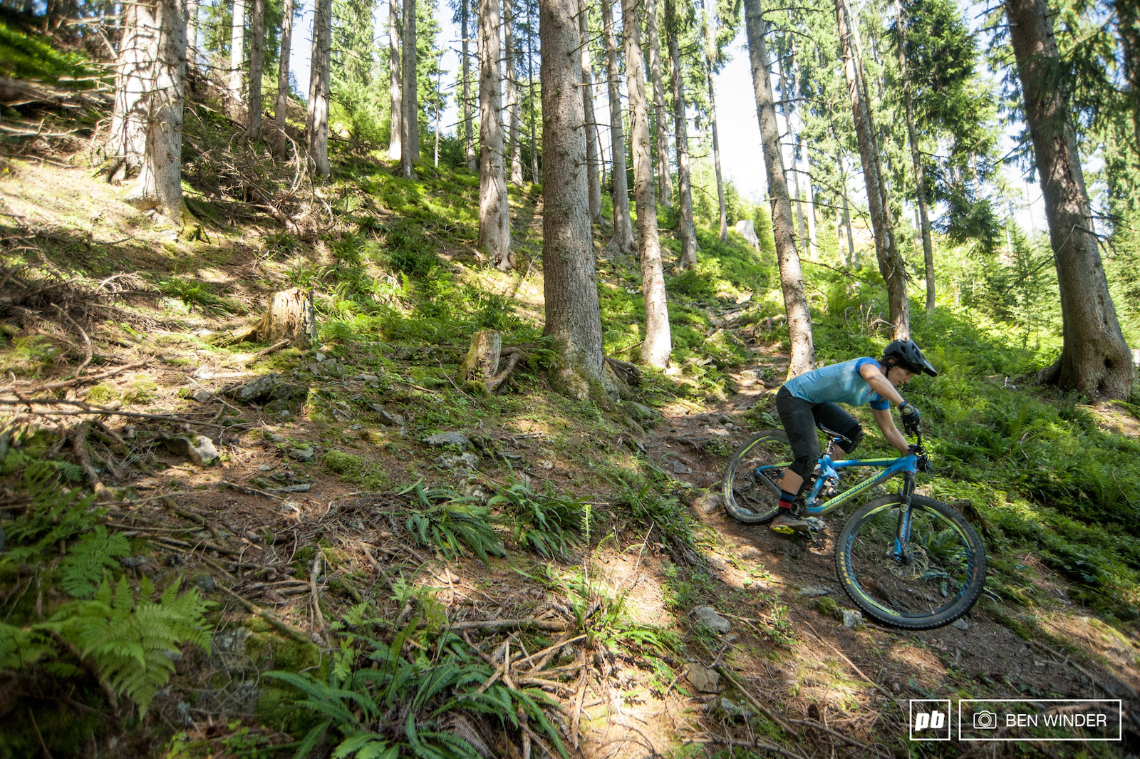 There are plans for more official singletrack in the future.