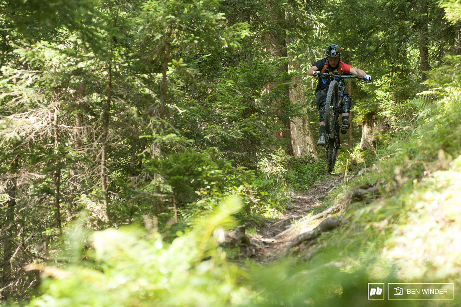 Away from the bike park there are some decent singletrack rides to be had.