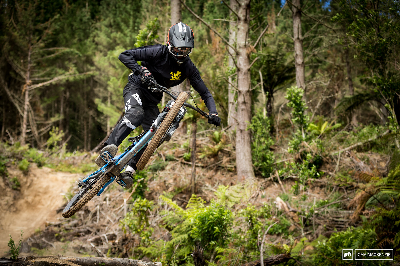 Crankworx Rotorua Redwoods DH 2018