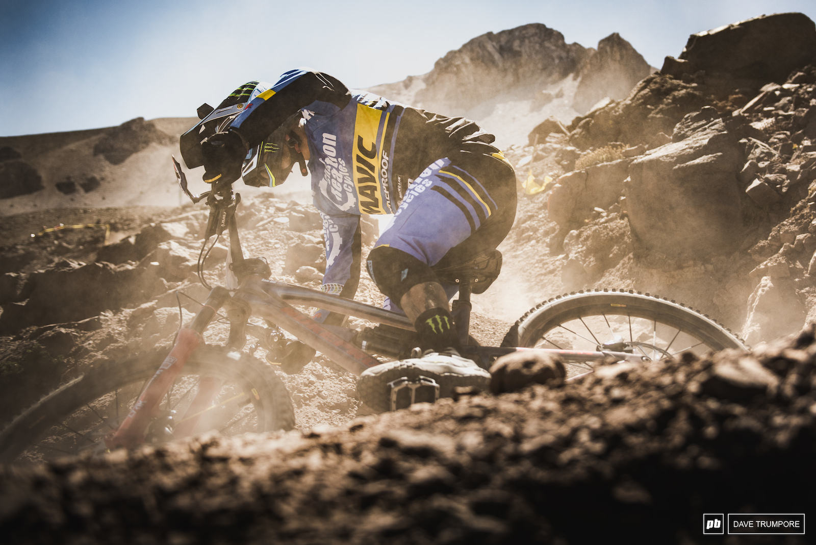 Long rough fast loose and full of drifty corners from top to bottom. Is there anyone other than Sam Hill that you would place your bets on this weekend