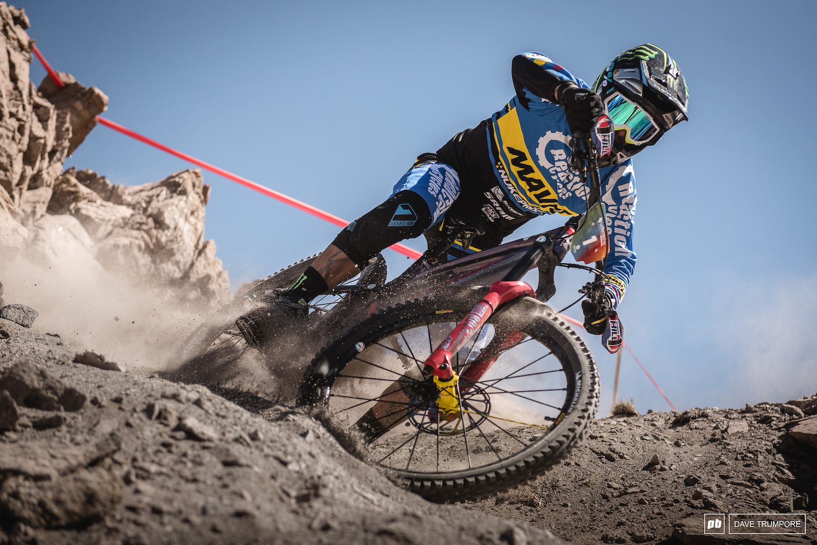 Picking up where he left off Sam Hill is on top of the leader board after day 1.