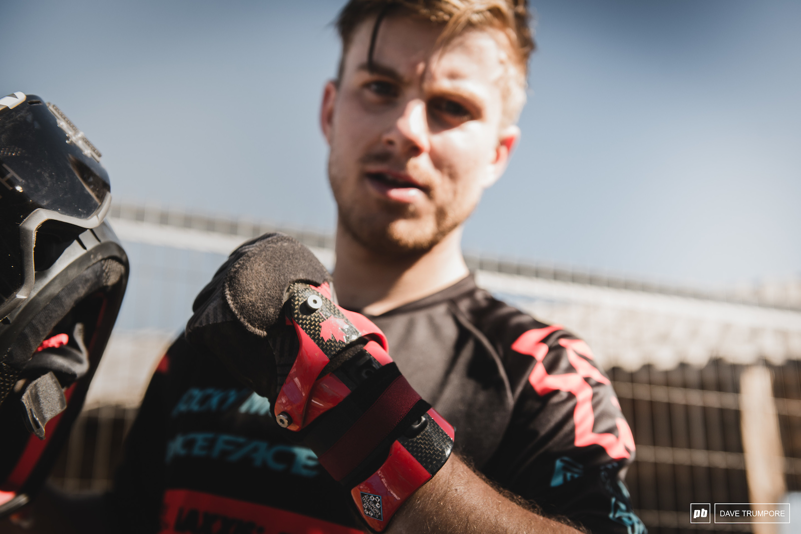 Just 5 weeks after scaphoid surgery Remi Gauvin is back at it and racing the rowdiest EWS to date.