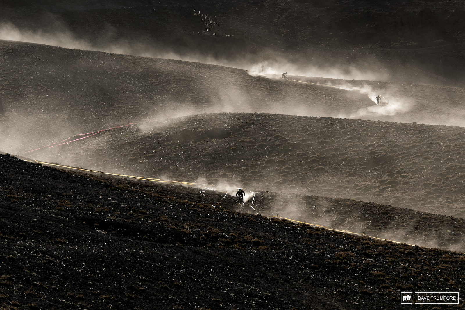 Once again the dust was flying on the slopes of La Parva to kick off day 2.