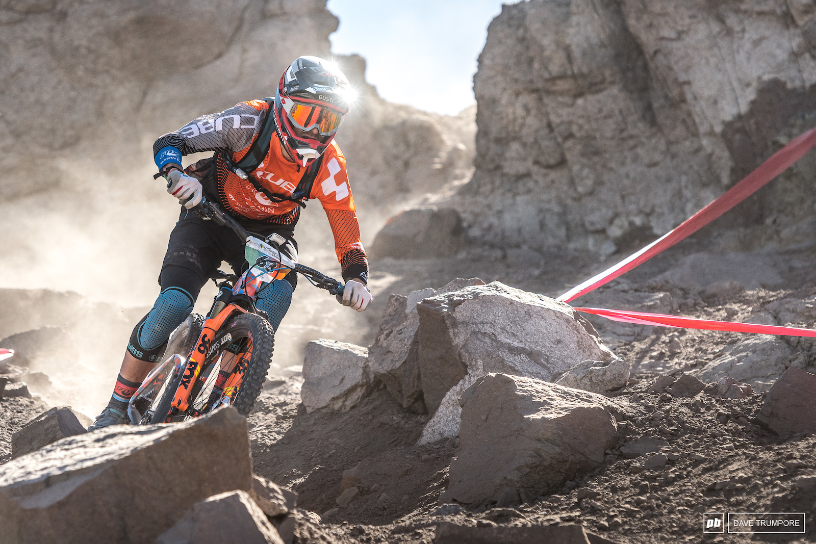 What a ride for Gusti Wildhaber to move into 4th in the overall.