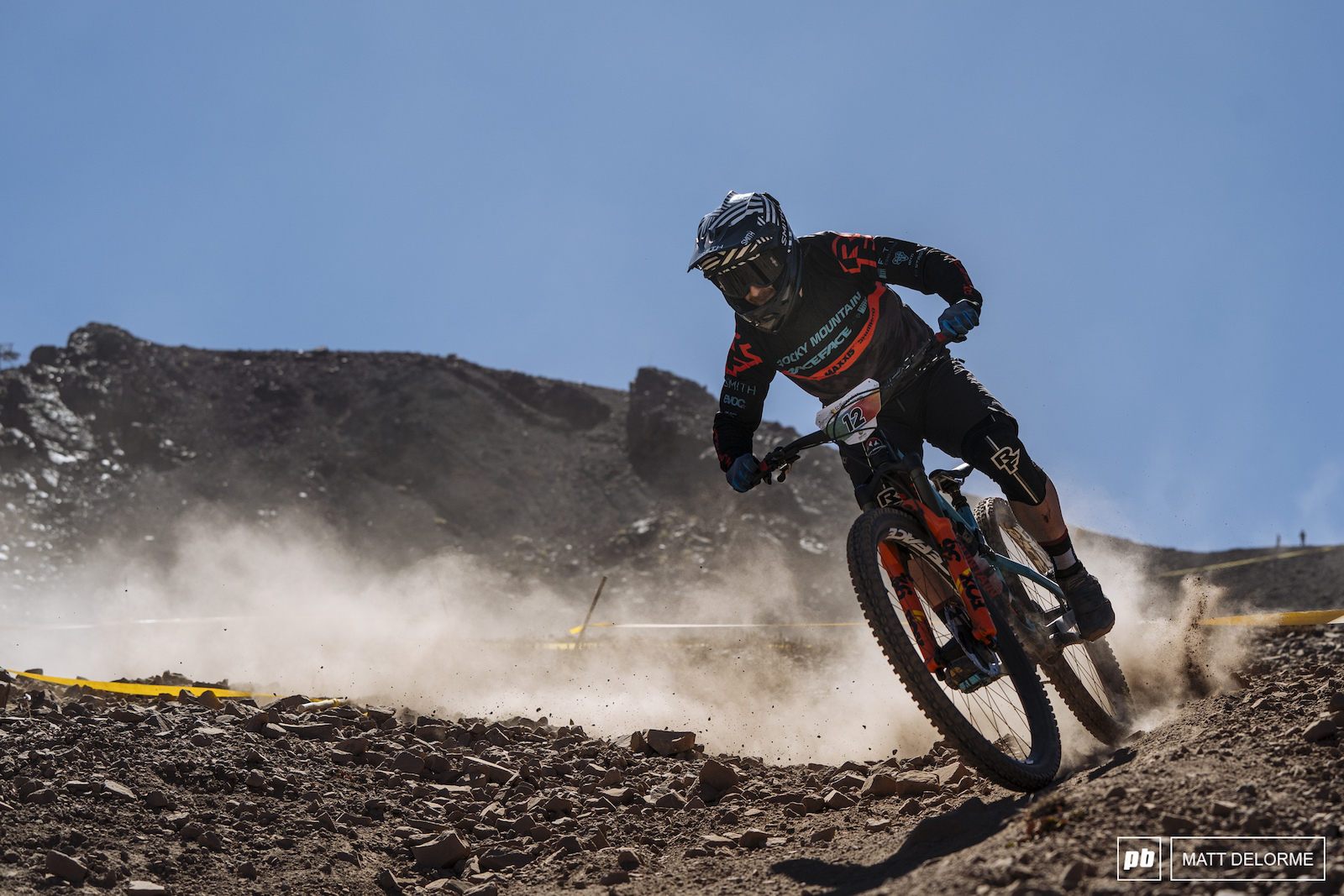 Jesse Melmed pushed through a rough four days with a pretty bad crash and still finished fifth.
