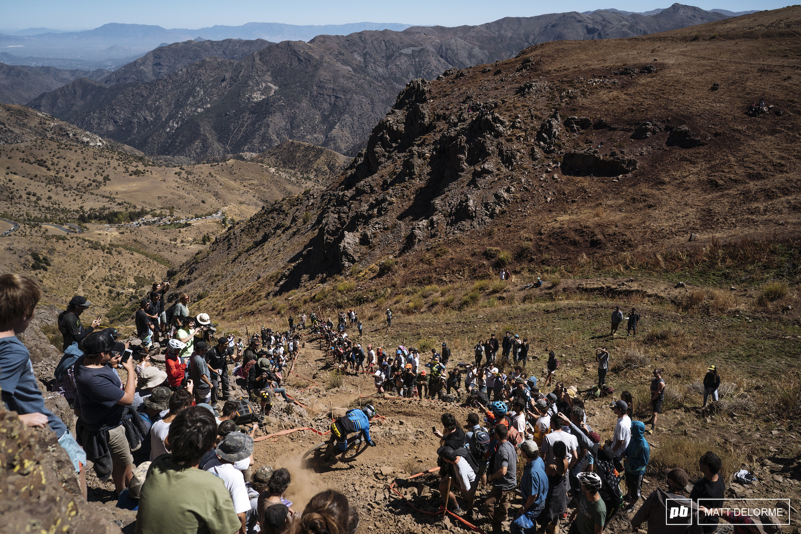 Big views big crowds and Sam Hill smashing loose corners. Could there be anything finer.