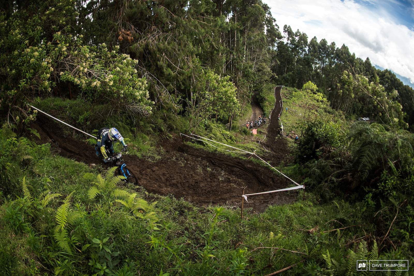 Marcelo Gutierrez backed up his performance on the streets of Manizales with an impressive performance on the muddy hillsides outside of the city. With a 2nd place finish the hometown fans were thrilled to have a Colombian on the EWS podium this weekend.
