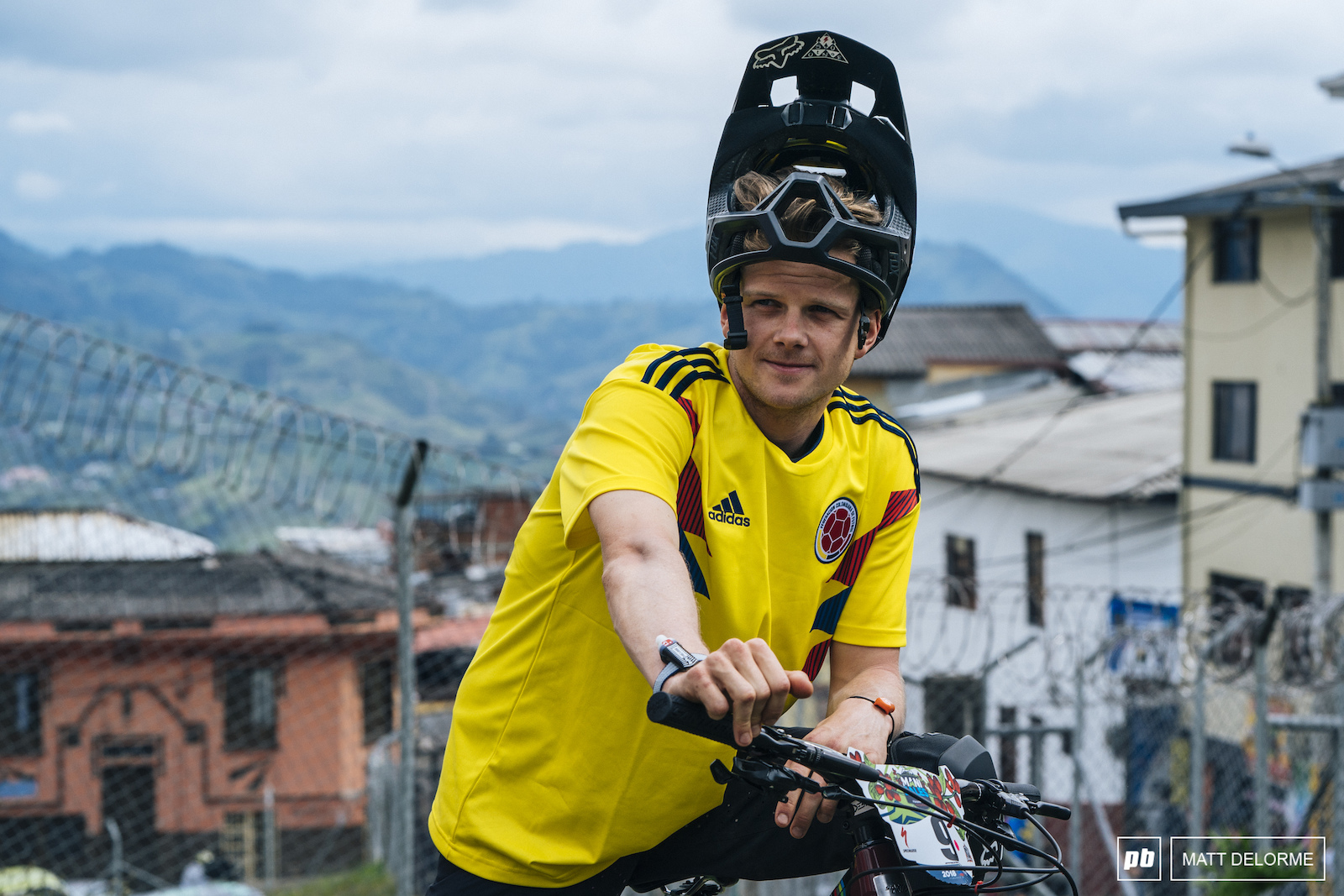 Mark Scott took 8th for the weekend. He got massive cheers on the urban stage in his Colombia soccer jersey.