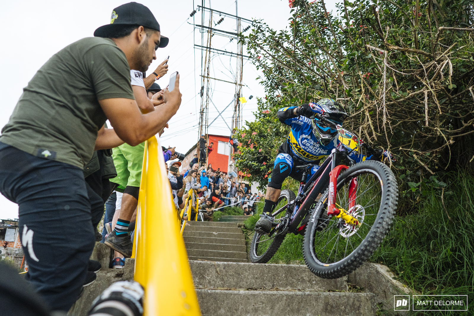 Sam Hill eyes at nearly bar level on the urban stage.