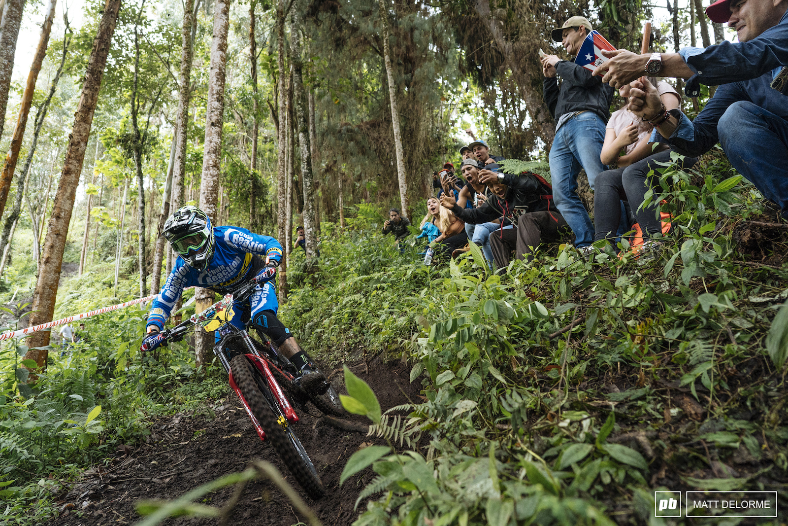Unstoppable Sam Hill.