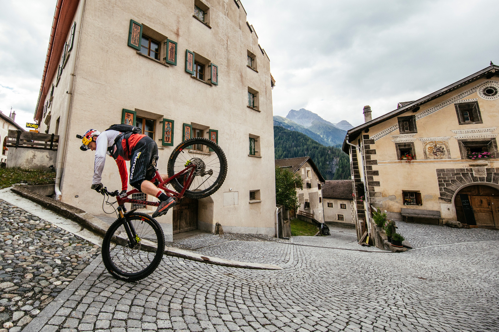 Danny MacAskill. Photo credit Martin Bissig